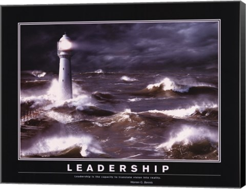 Framed Motivational - Leadership Print