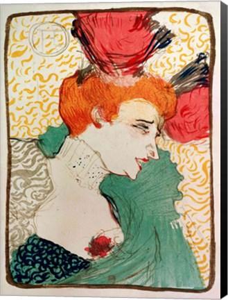 Mademoiselle marcelle lender 1895 fine art print by henri - Mademoiselle marcelle ...