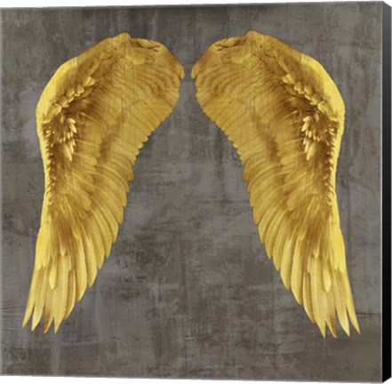 Framed Angel Wings I Print