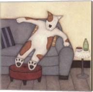 Lounging Dog Fine-Art Print