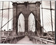 Brooklyn Bridge - sepia Fine-Art Print