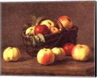 Pommes Dans un Panier Fine-Art Print