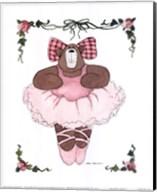 Ballerina Bear I Fine-Art Print