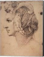Drawing of a Woman Fine-Art Print