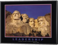 Leadership (Mt.Rushmore) Fine-Art Print