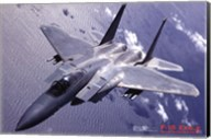 Airplane F-15 Eagle Wall Poster