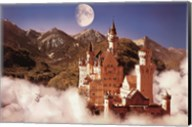 Castle In The Mountains Wall Poster