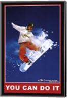 You Can Do It - Extreme Sport Wall Poster