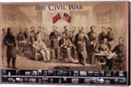 Civil War Wall Poster