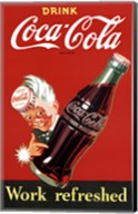 Coca-Cola Trade Mark Wall Poster