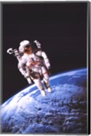 Astronaut Wall Poster