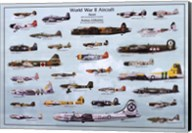 Wwii Aircraft Wall Poster
