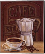 Cafe Mundo I Fine-Art Print