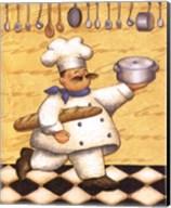 Le Chef Et Le Pain Fine-Art Print