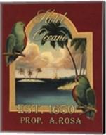 Hotel Oceano - Mini Fine-Art Print