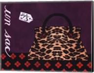 Leopard Handbag III Fine-Art Print