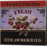 Fresh Strawberries Fine-Art Print