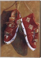 Sioux Quilled Moccasins Fine-Art Print