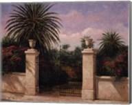 Palm Gate I Fine-Art Print