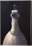 Fowl with Pearls Fine-Art Print