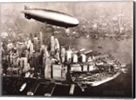 Zeppelin Over New York Fine-Art Print