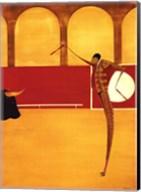 Torero Y Toro II Fine-Art Print