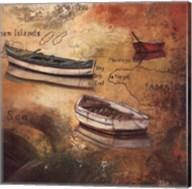 Caribbean Island I Fine-Art Print