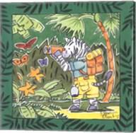 Safari-Zebra Fine-Art Print