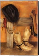 Rustic Cowboy Fine-Art Print