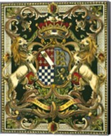 Crest on Black II Fine-Art Print