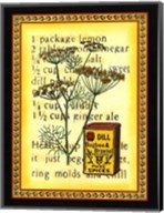Spice Recipe III Fine-Art Print