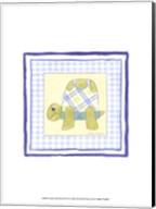 Turtle with Plaid (PP) III Fine-Art Print