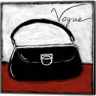 Vogue on Red Fine-Art Print