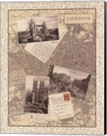 Post Cards from London Fine-Art Print