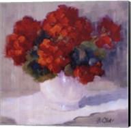 Red Geraniums Fine-Art Print