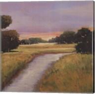 Golden Marsh Fine-Art Print