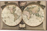 New Map of the World Fine-Art Print