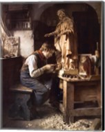 His Madonna, c.1908 Fine-Art Print