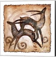 Playing Antelopes Fine-Art Print