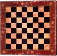 Americana Checkers Fine-Art Print