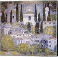 Church at Cassone on garda Fine-Art Print