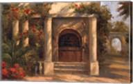 Augustine's Courtyard Fine-Art Print