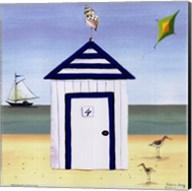 Beach House IV Fine-Art Print
