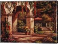 Arch Courtyard II Fine-Art Print