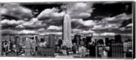New York, New York, Clouds Over Manhattan Fine-Art Print