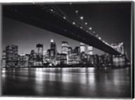 New York, New York, Manhattan Skyline Fine-Art Print