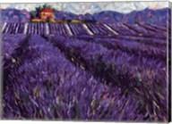 Lavender Fields I Fine-Art Print
