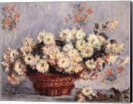 Basket of Chrysanthemums, c.1878 Fine-Art Print