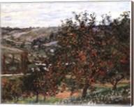 Pommiers Pres De Vetheuil-Mini Fine-Art Print