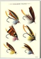 Salmon Flies I Fine-Art Print